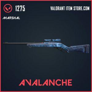 Avalanche Marshal skin Valorant Item