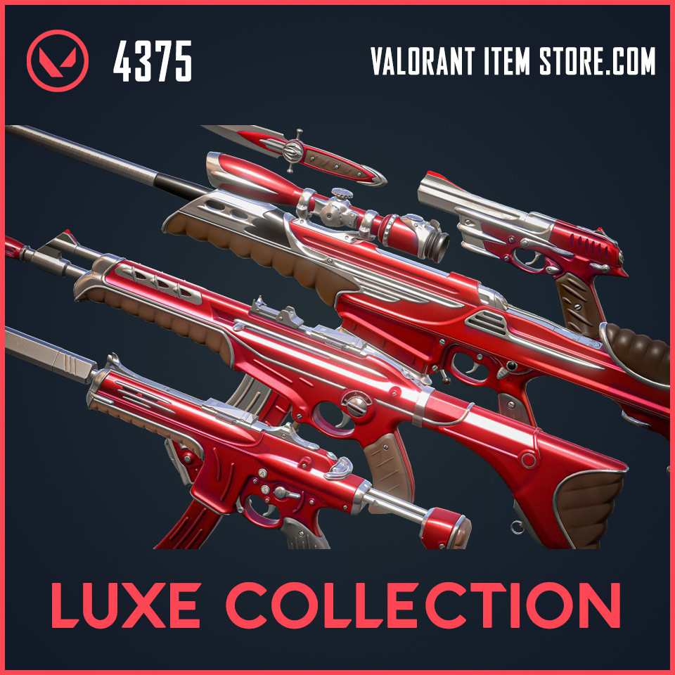 Luxe Collection skins Valorant Item bundle