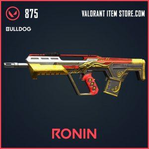 Ronin Bulldog valorant skin