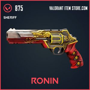 Ronin Sheriff skin Valorant Item