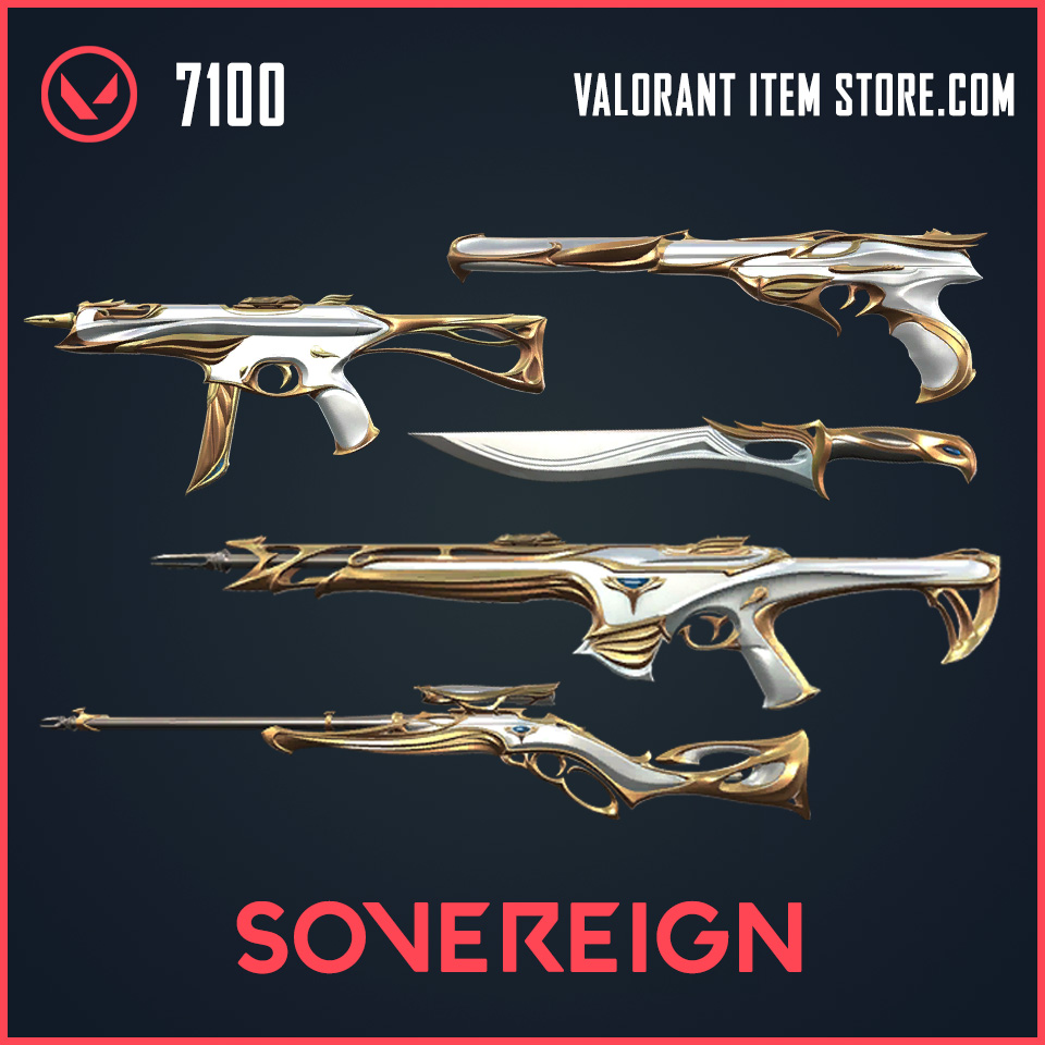 Sovereign Valorant Item Store Bundle
