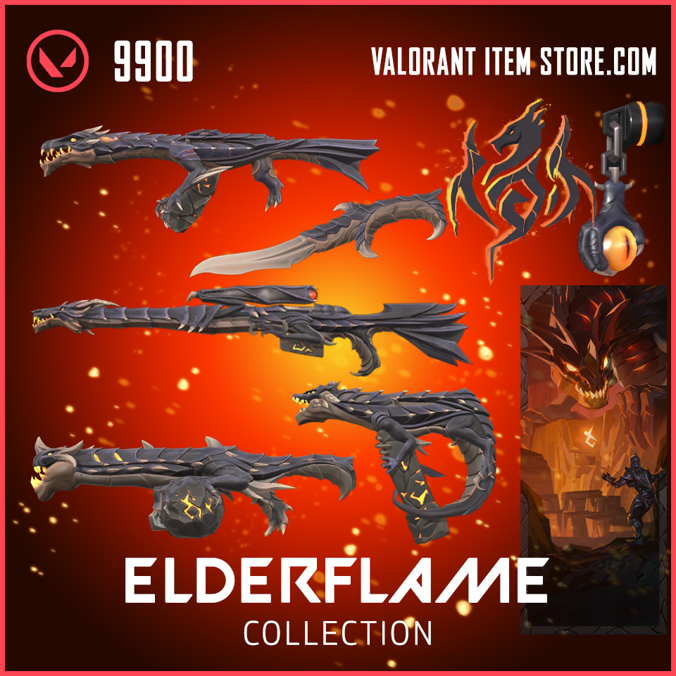 Elderflame Valorant Item bundle