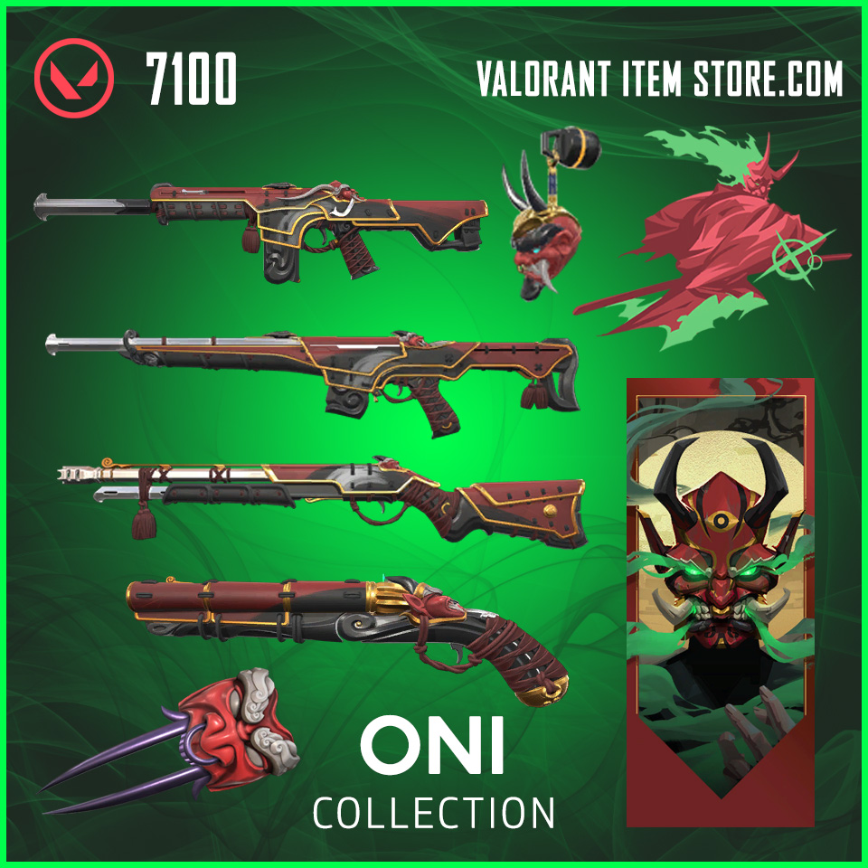 Oni Collection Valorant Item bundle