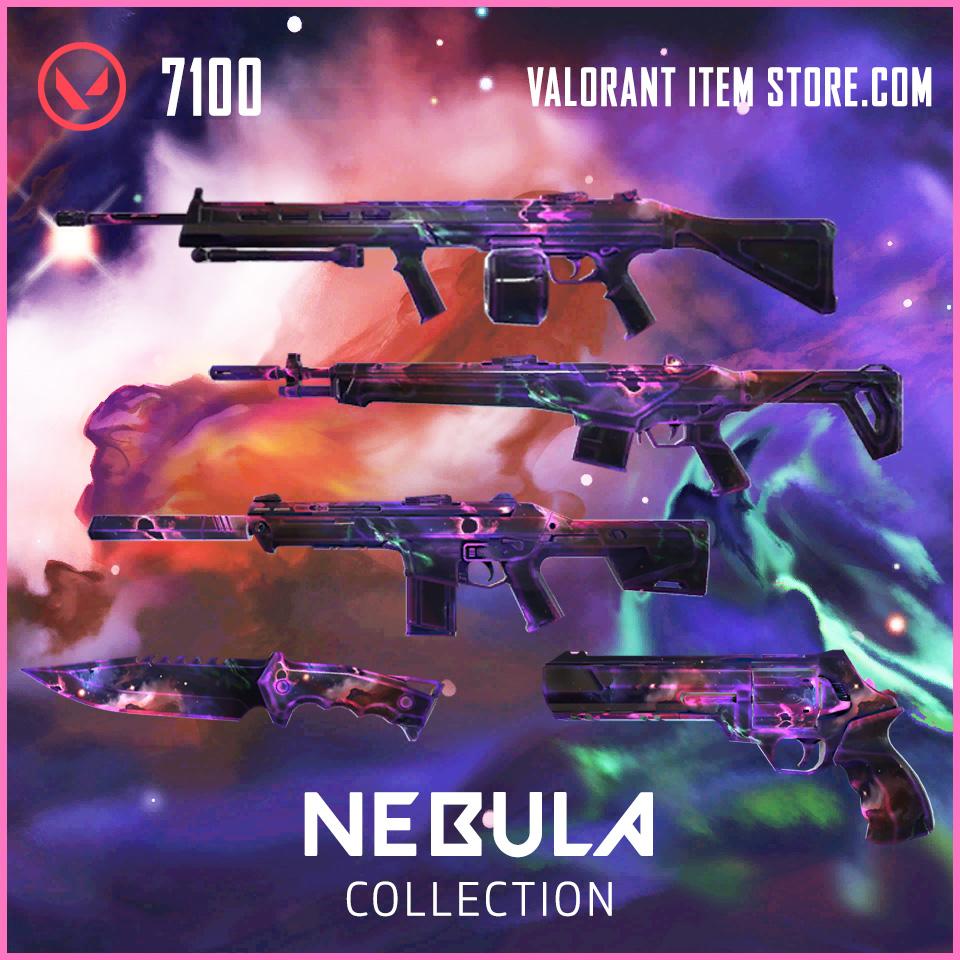 Nebula Valorant Item Bundle