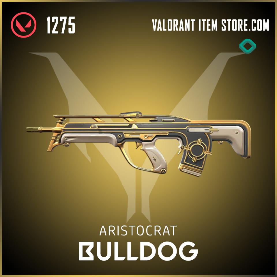 Aristocrat Bulldog Valorant Skin