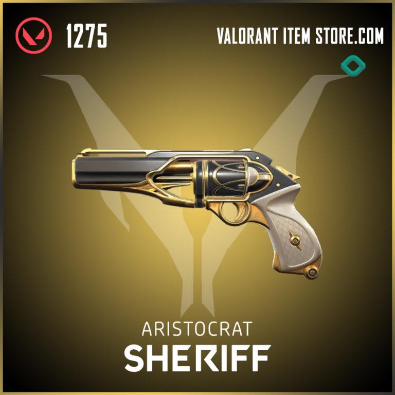 Aristocrat Sheriff Valorant Skin