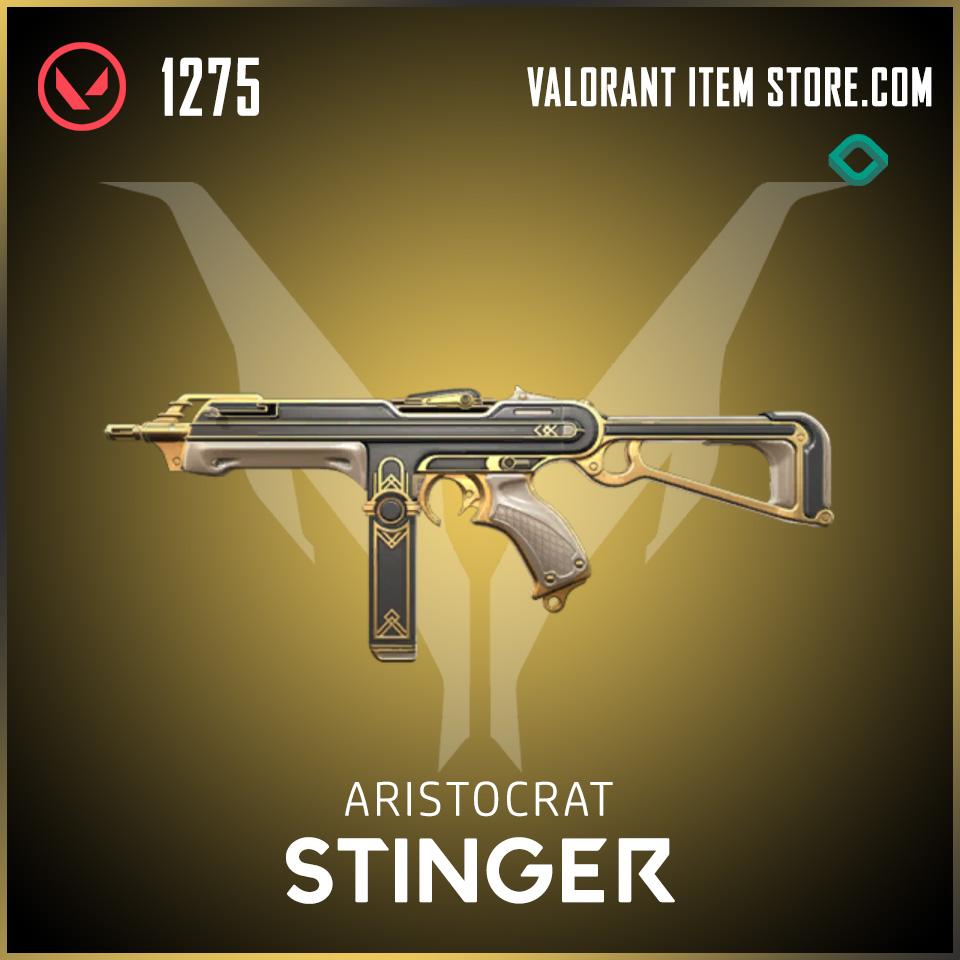 Aristocrat Stinger Valorant Skin