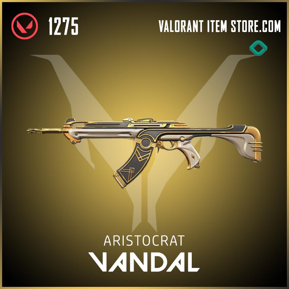 Aristocrat Vandal valorant skin