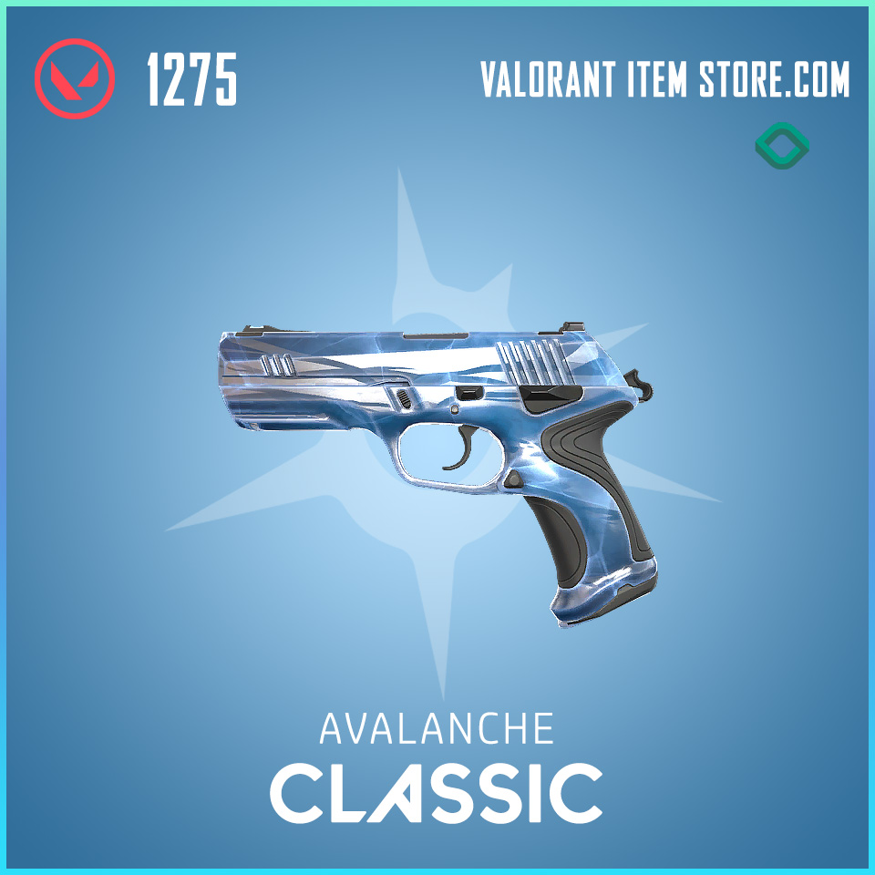 Avalanche Classic valorant skin