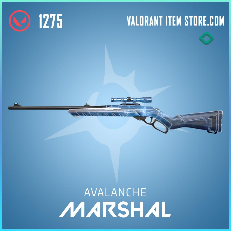 Avalanche Marshal valorant skin