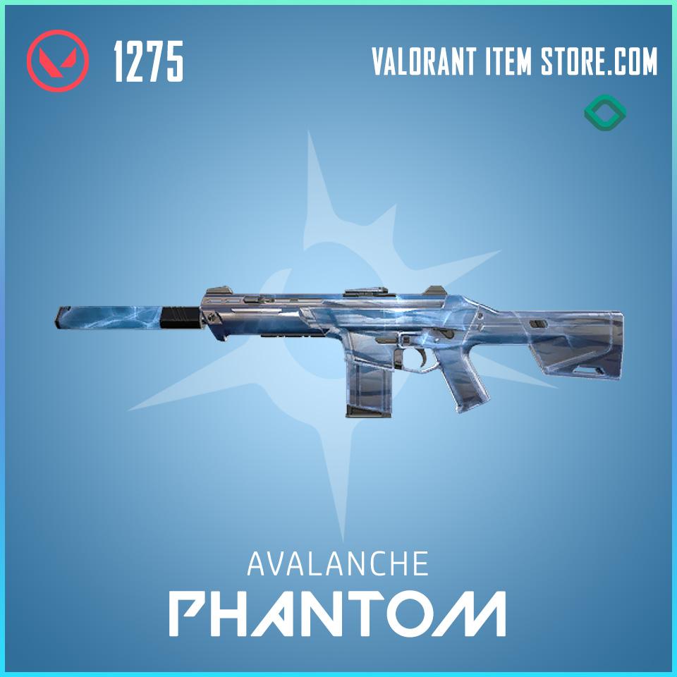 Avalanche Phantom valorant skin