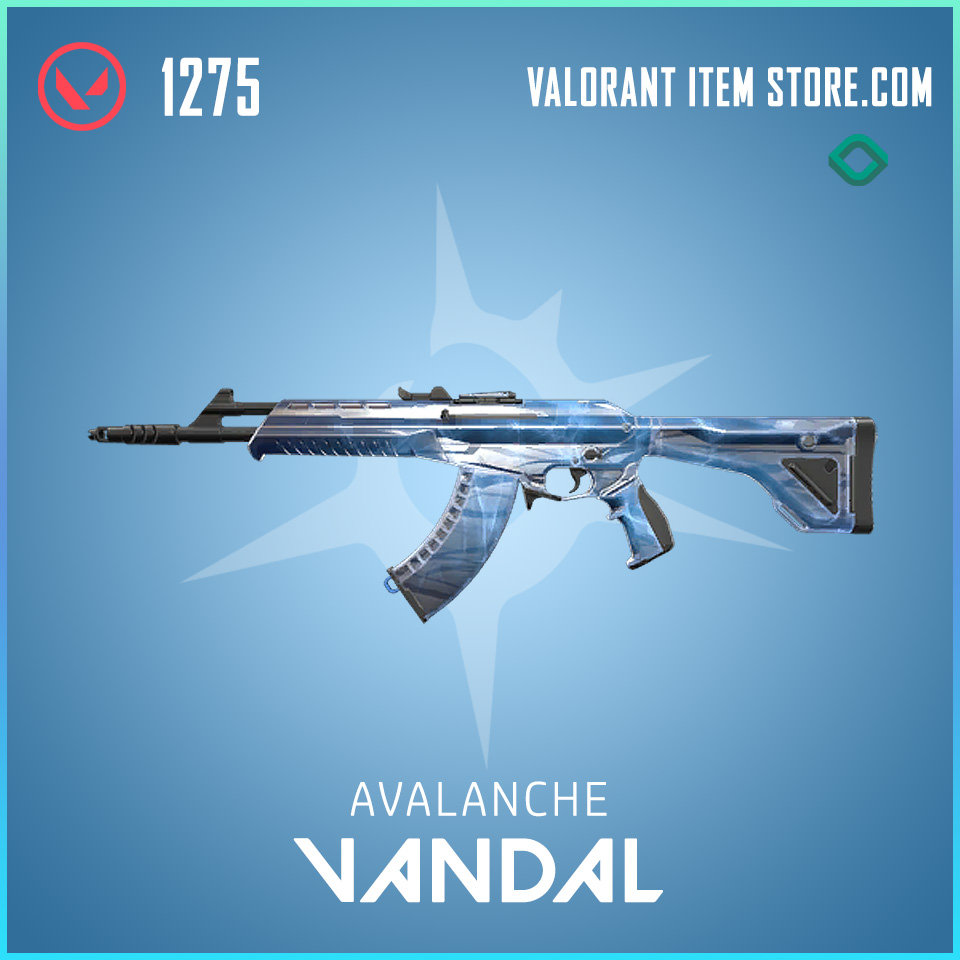 Avalanche Vandal valorant skin