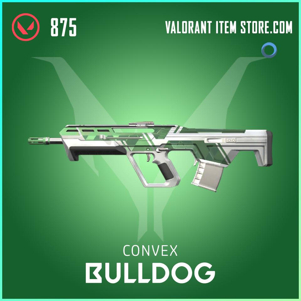 Convex Bulldog valorant skin