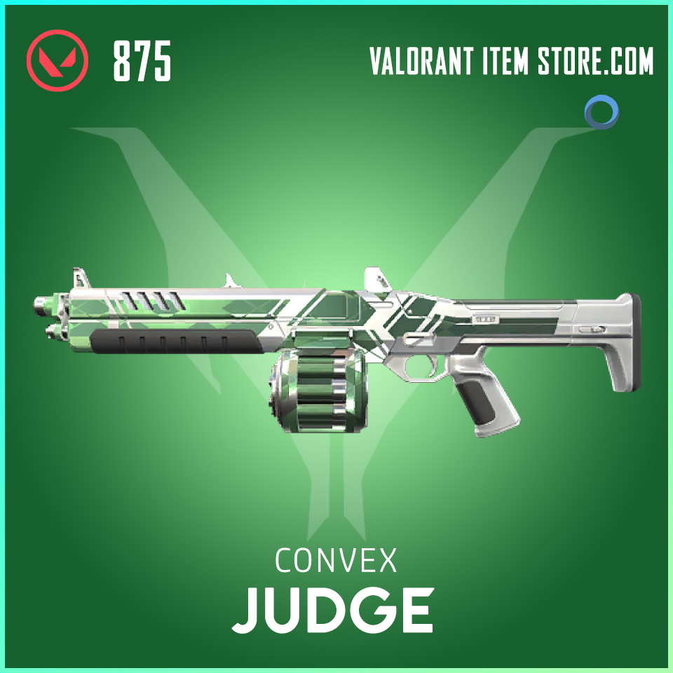 Convex Judge valorant skin