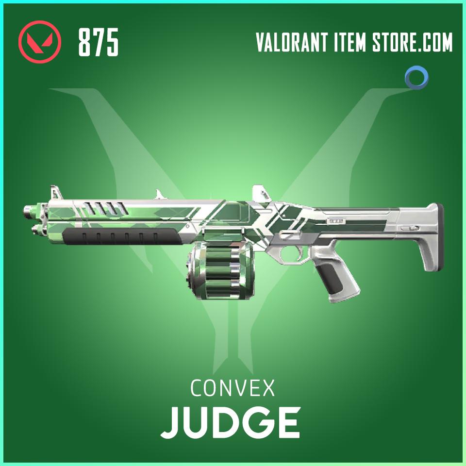 Convex Judge valorant skin