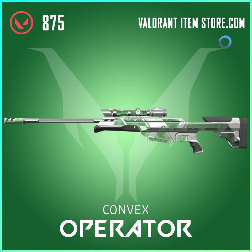 Convex Operator valorant skin