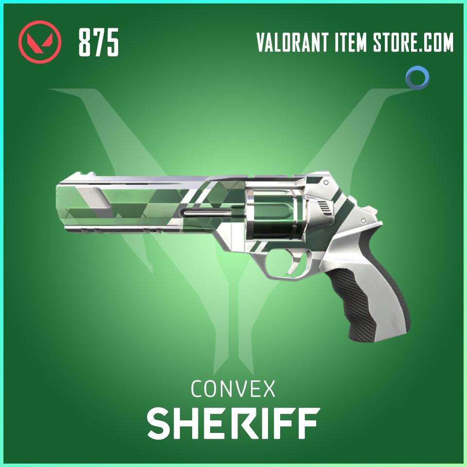 Convex Sheriff valorant skin