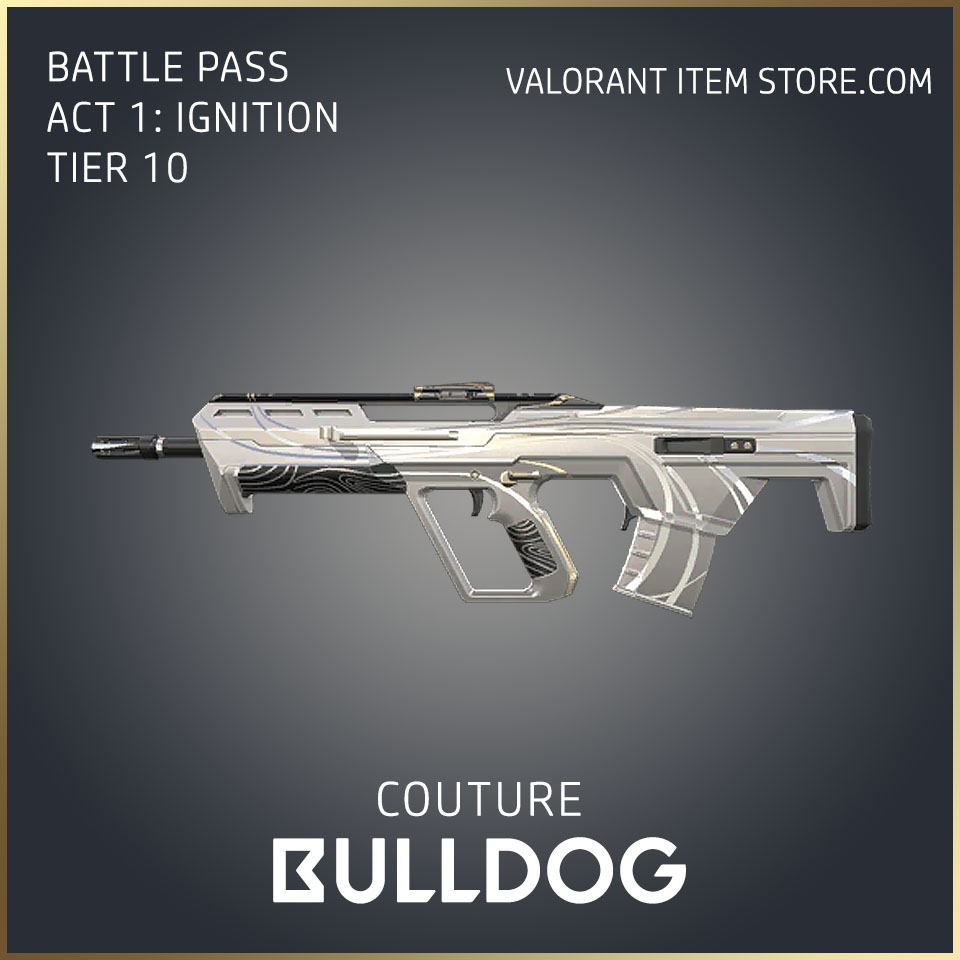 Couture Bulldog Act 1 Ignition Tier 10 Valorant Skin