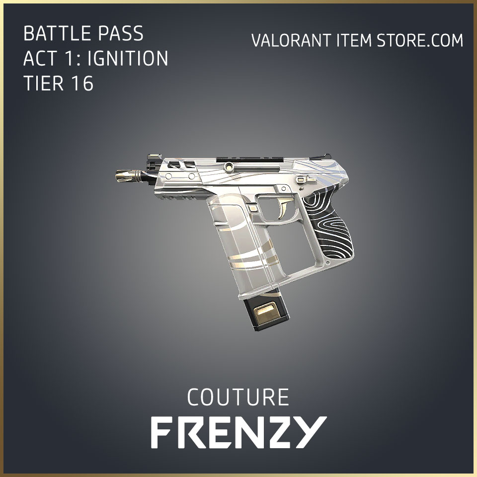 Couture Frenzy Act 1 Ignition Tier 16 Valorant Skin