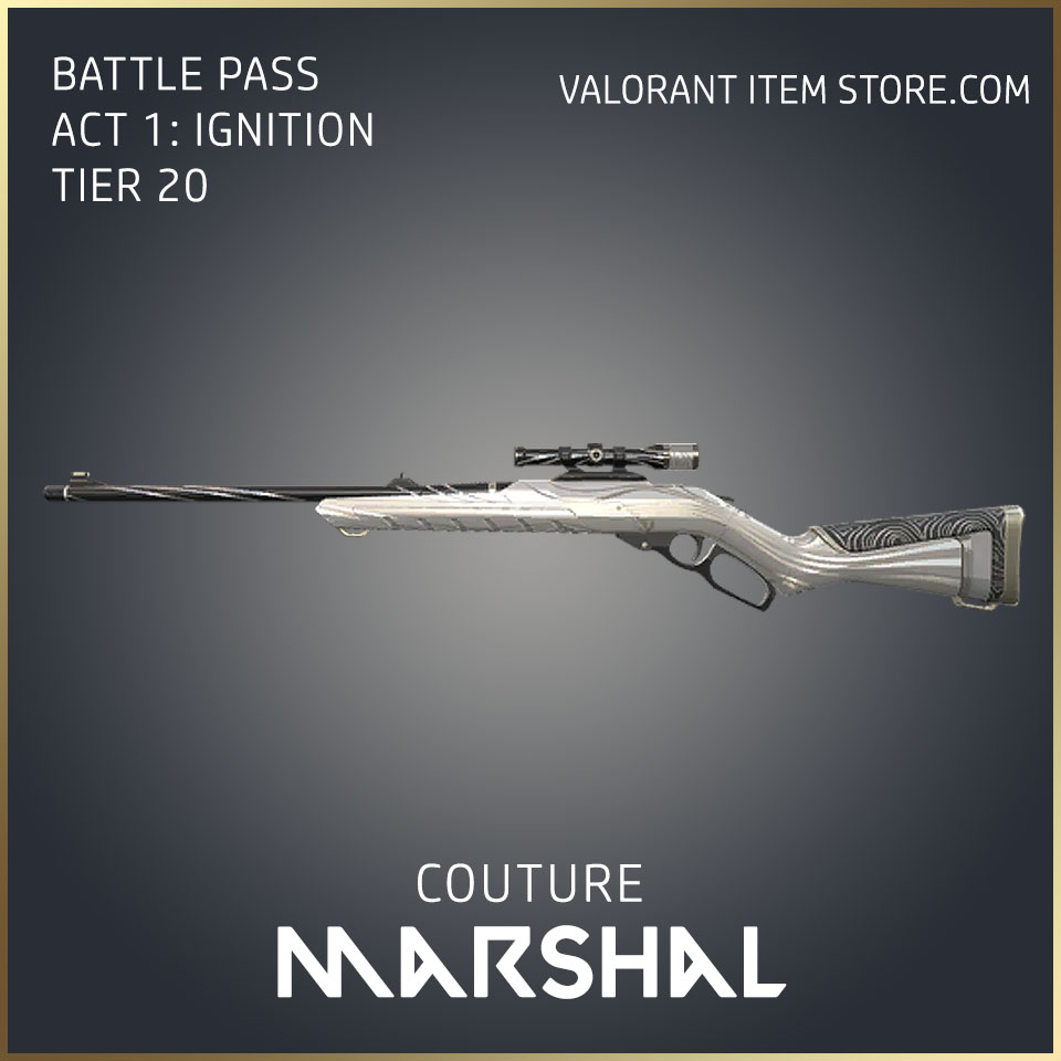 Couture Marshal Act 1 Ignition Tier 20 Valorant Skin