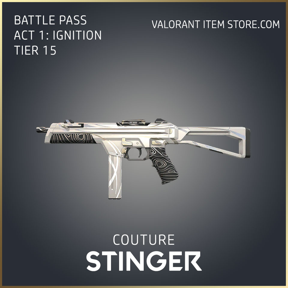 Couture Stinger Act 1 Ignition Tier 15 Valorant Skin