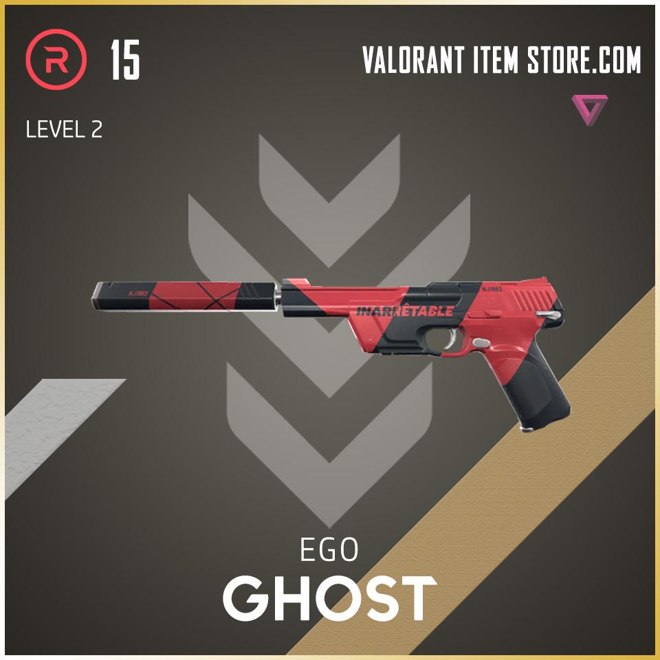 Ego Ghost Level 2 Valorant Skin