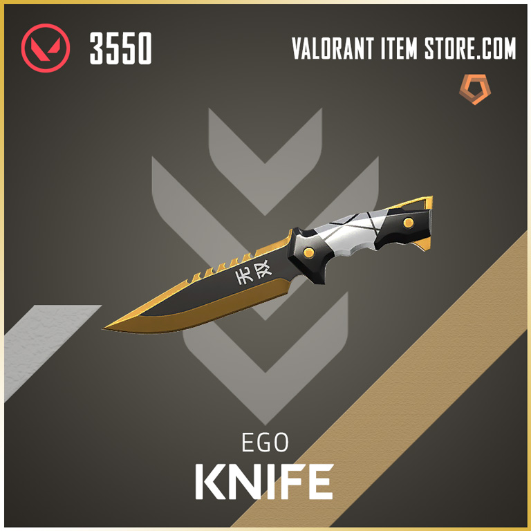 Ego Knife Valorant Skin