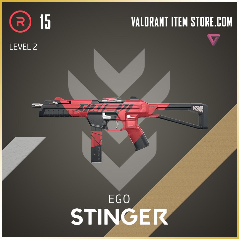 Ego Stinger level 2 Valorant Skin
