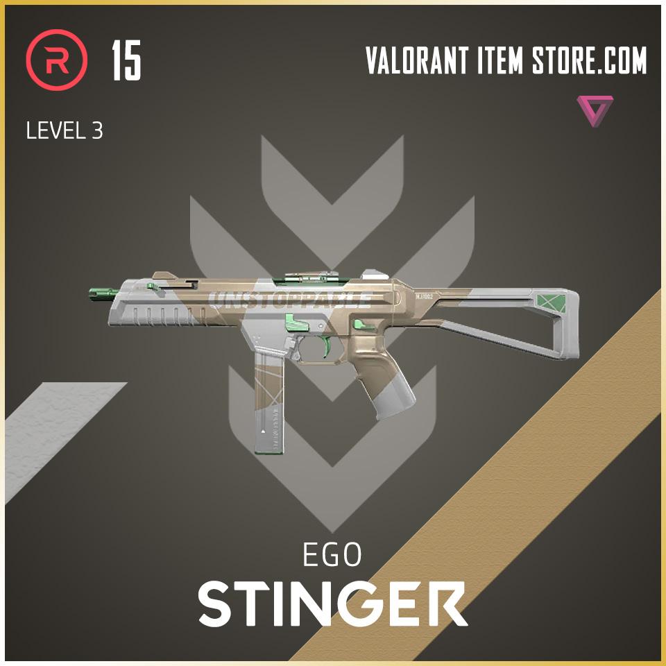 Ego Stinger level 3 Valorant Skin