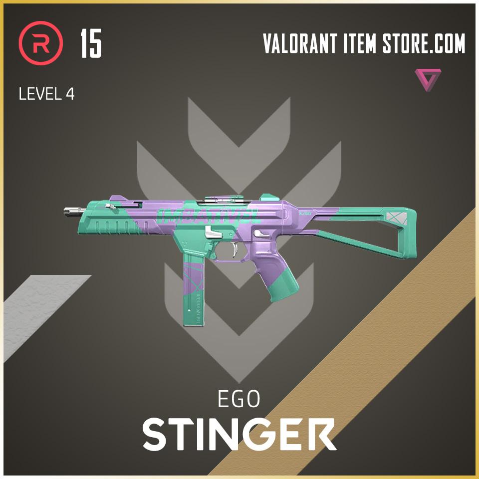 Ego Stinger level 4 Valorant Skin