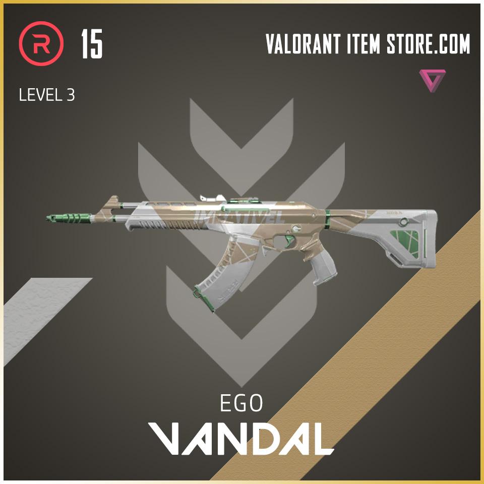 Ego Vandal Level 3 Valorant Skin