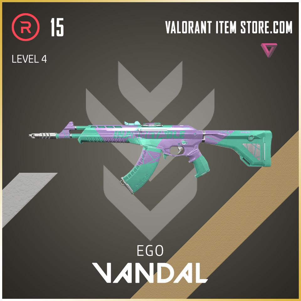 Ego Vandal Level 4 Valorant Skin