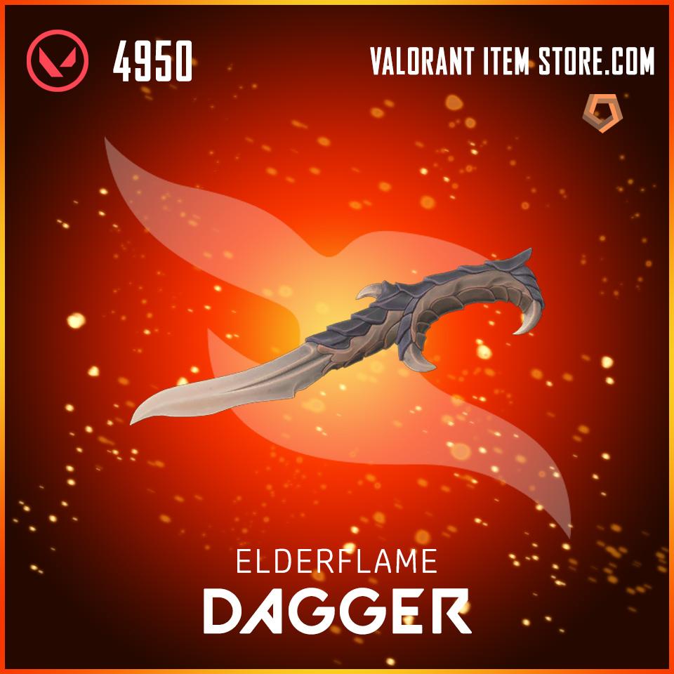 Elderflame Dagger Valorant skin