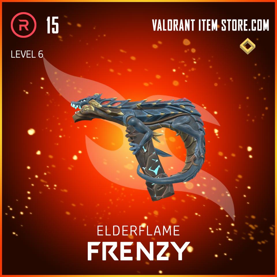 Elderflame Frenzy Level 6 Valorant skin