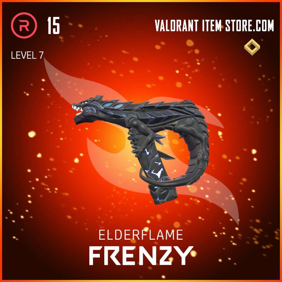 Elderflame Frenzy Level 7 Valorant skin