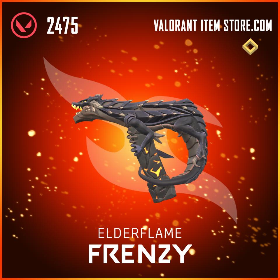 Elderflame Frenzy Valorant skin