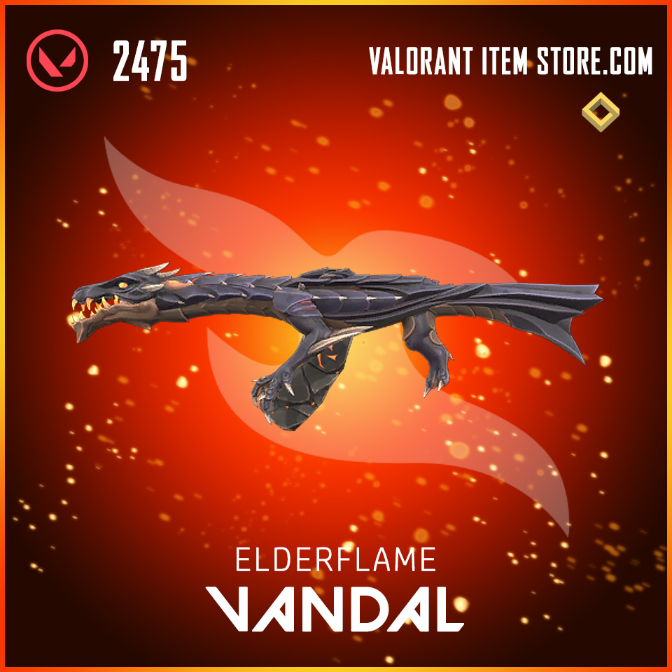 Elderflame Vandal Valorant skin
