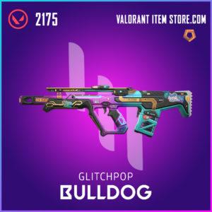 Glitch Pop Bulldog Valorant Skin
