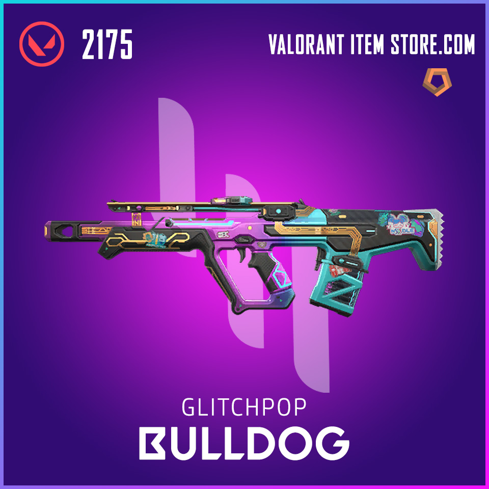 Glitch Pop Bulldog Valorant Skin