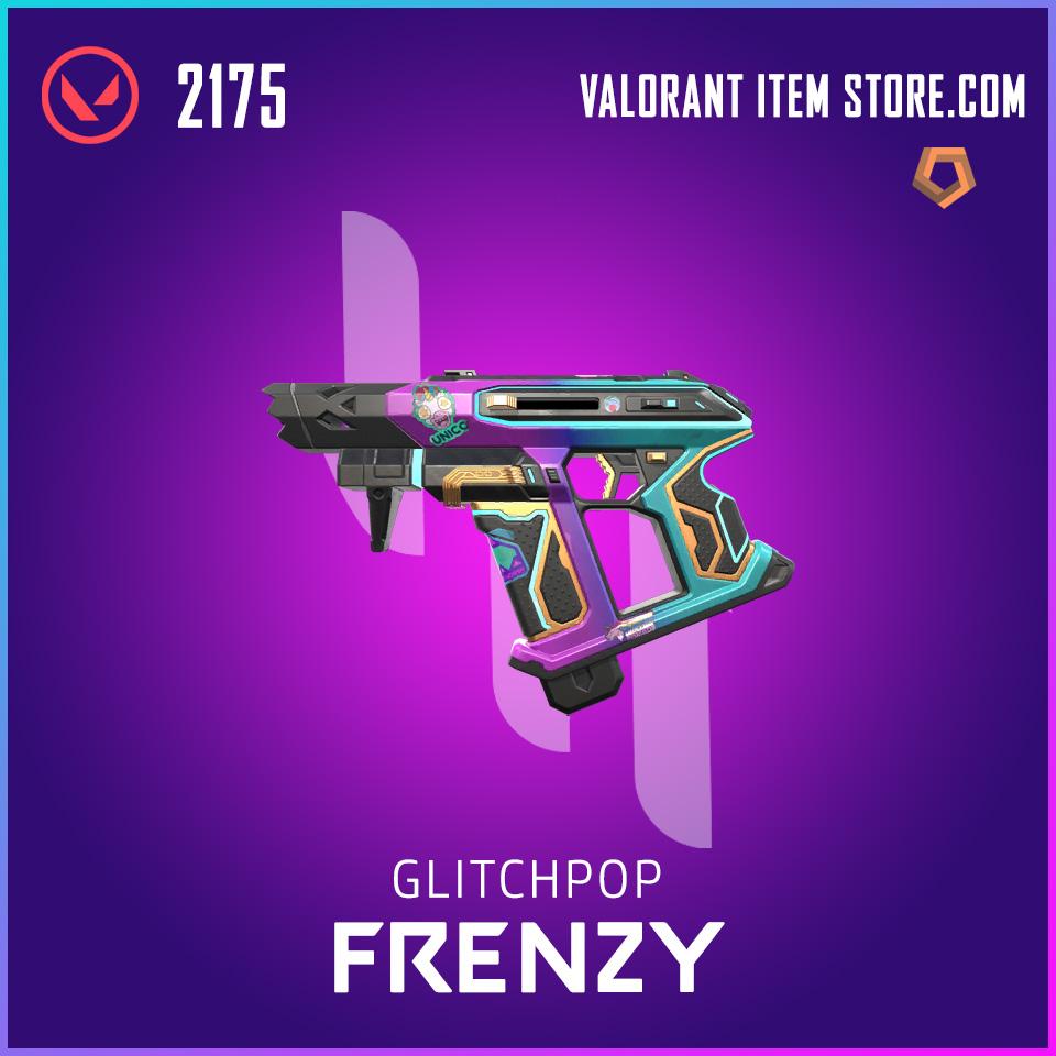 Glitchpop Frenzy Valorant Skin