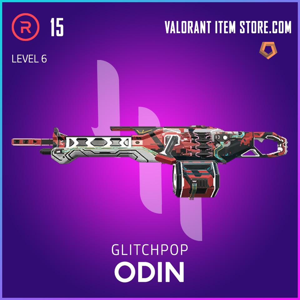 Glitchpop Odin Level 6 Valorant Skin