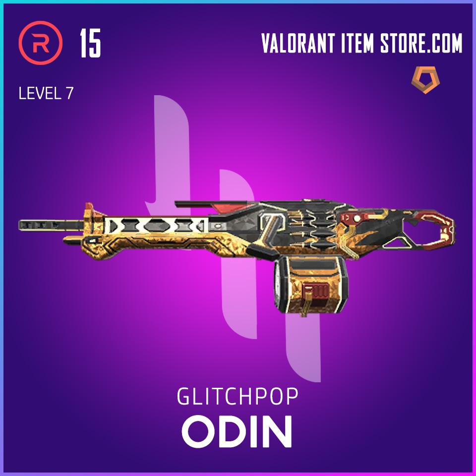 Glitchpop Odin Level 7 Valorant Skin