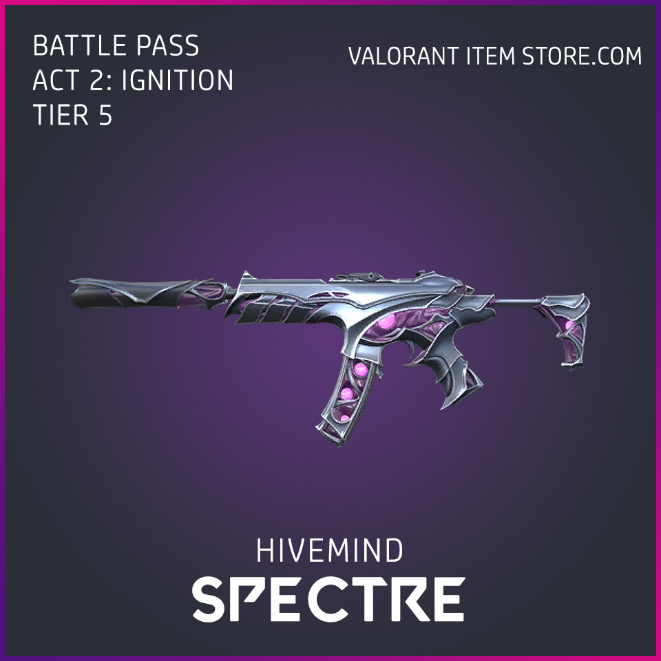 Hivemind Spectre Act 2 Ignition Tier 5 Valorant Skin