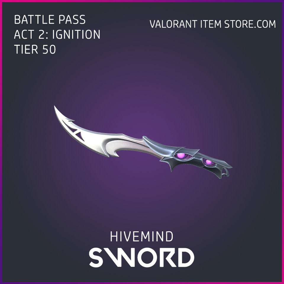Hivemind Sword Act 2 Ignition Tier 50 Valorant Skin