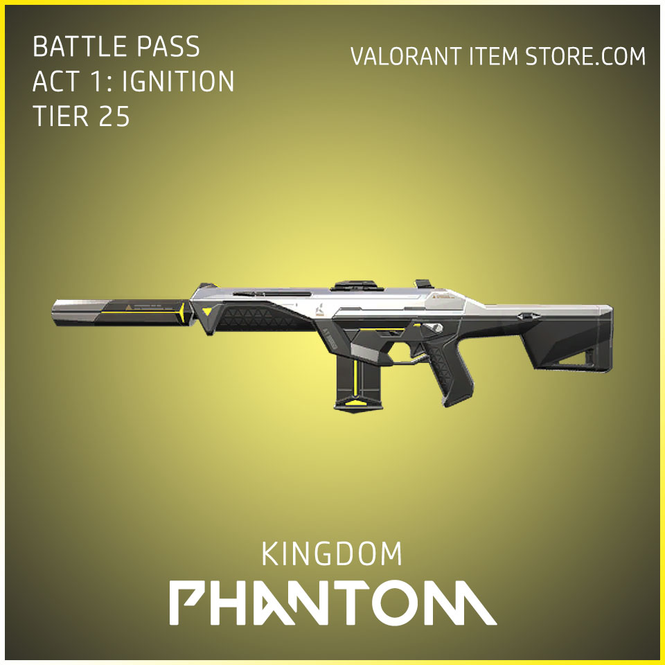 Kingdom Phantom Act 1 Ignition Tier 25 Valorant Skin