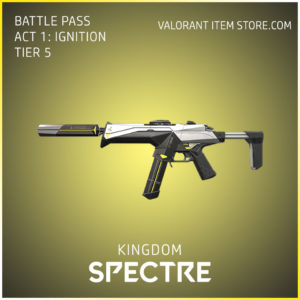 Kingdom Spectre Act 1 Ignition Tier 5 Valorant Skin