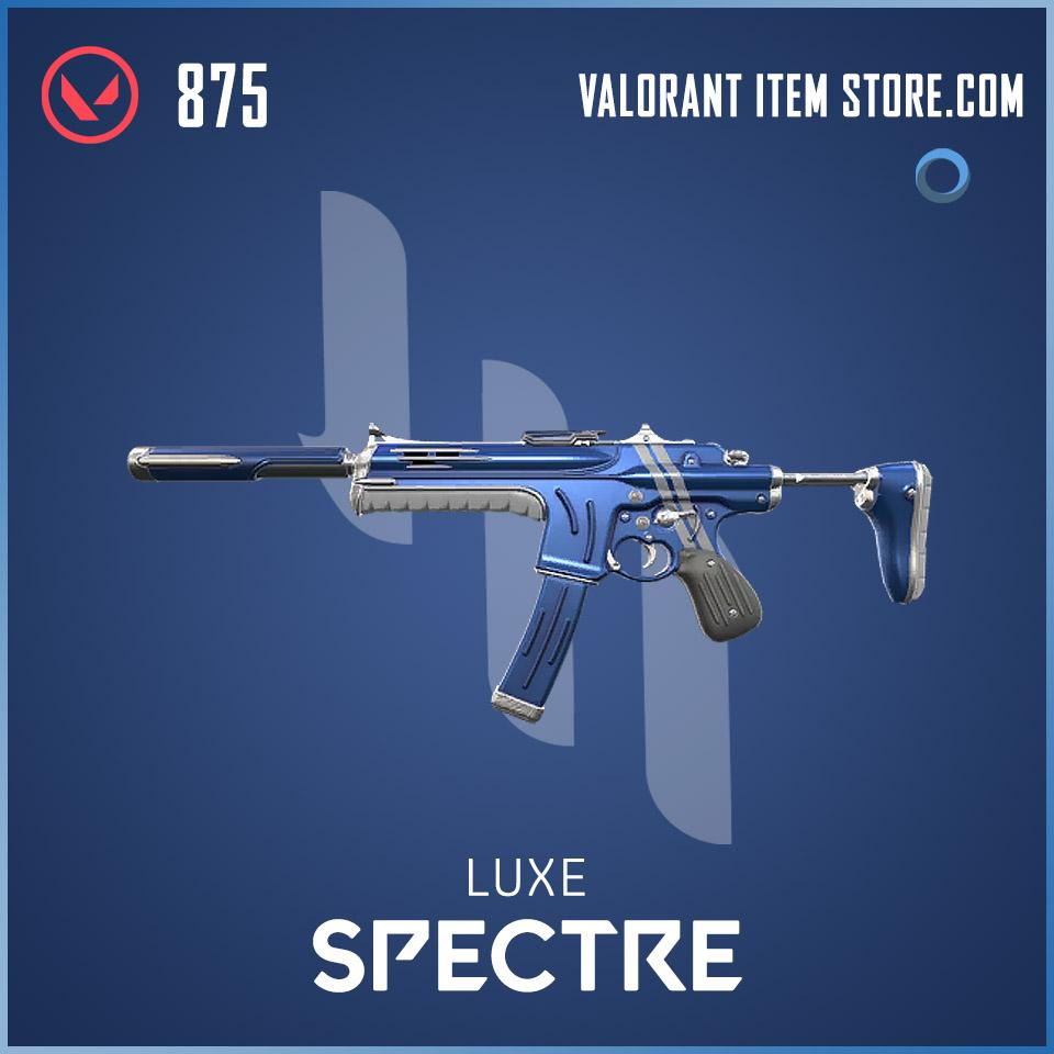 Luxe Spectre Valorant skin
