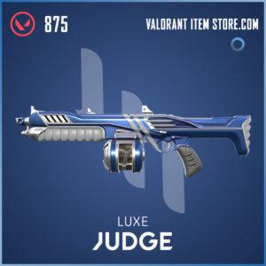 Luxe Judge Valorant skin