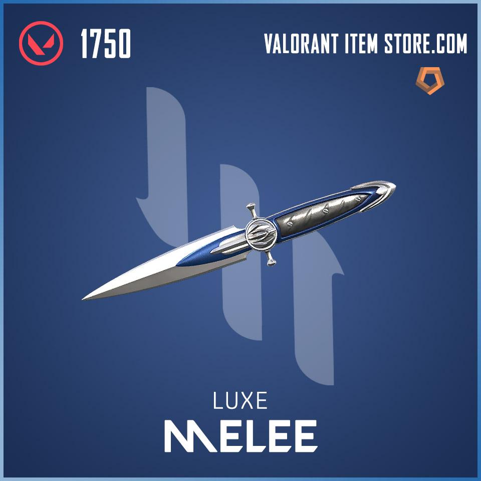 Luxe Knife Melee Valorant skin