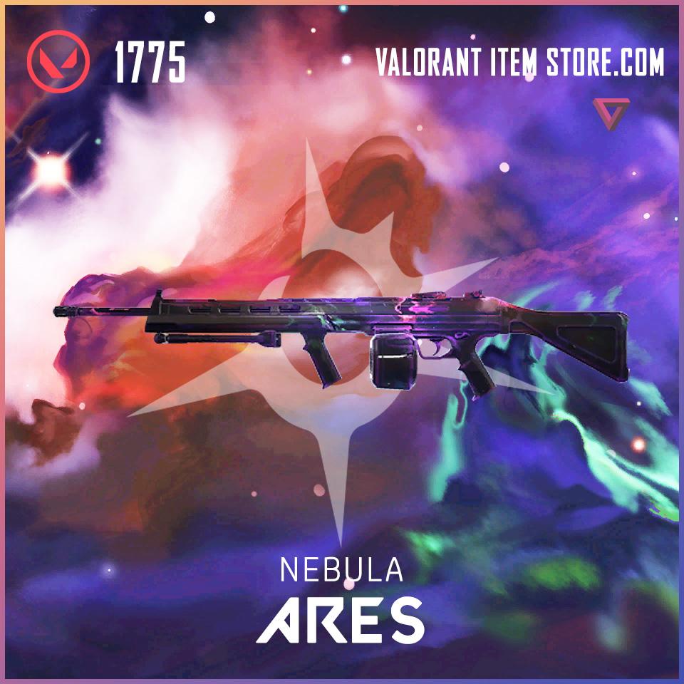 Nebula Ares Valorant Skin